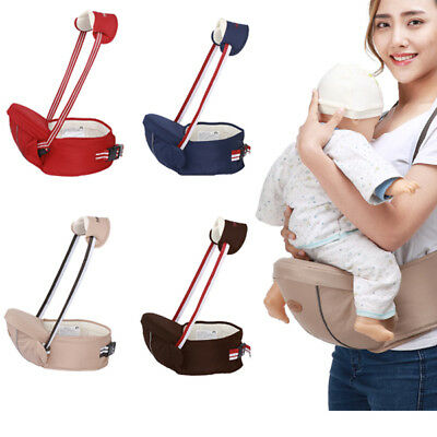 Baby Carrier With Hip Seat Ergonomic Waist Stool With Soft Adjustable Belt • 13.98£
