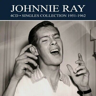 Johnnie Ray Singles Collection 1951-1962 4-CD NEW SEALED Digitally Remastered • 7.99£