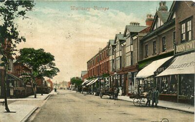 Wallasey - Wallasey Village - Old Postcard View • 2£
