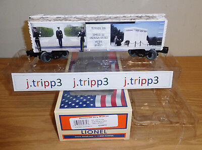 $73.95 • Buy Lionel 6-84672 Memorial Day Boxcar Train O Gauge United States Military Freedom