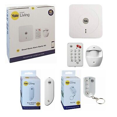 Yale Smart Home Alarm Starter Kit SR-310 + Extra Key Fob & Door/Window Contact • 174.99£