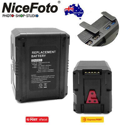 AU349 • Buy AU*Nicefoto DV003 (BP-230) 14.8V 15600mAh 230Wh Li-ion V-mount Battery