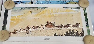 $ CDN197.28 • Buy Norman Rockwell  Stagecoach  Lithograph Signed