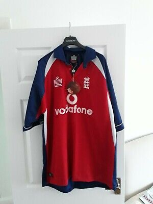 England Cricket Shirt 2005 Brand New With Tags XL • 10.99£