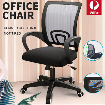 AU46.99 • Buy Ergonomic Gaming Office Chair Computer Chair Mesh Desk Chairs Executive Black