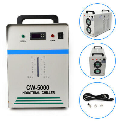 CW-5000 Industrial Water Chiller Cooling Cooler For CNC Laser Engraving Machine • 291.55£