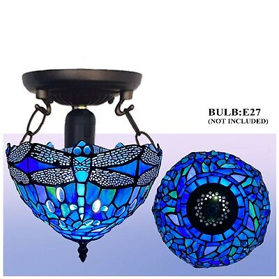 Tiffany Style Stunning Quality Hand Crafted Glass Table /Desk / Bedside Lamps UK • 46£