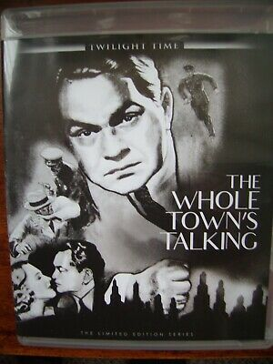 The Whole Town's Talking {BLU-RAY}EDWARD G ROBINSON/+BOOKLET/TWILIGHT TIME/RARE • 0.99£