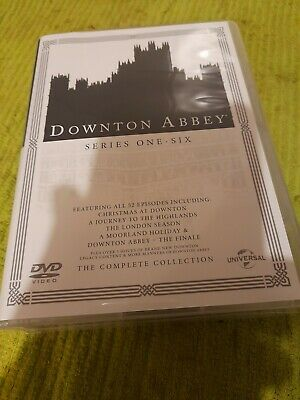 Downton Abbey - The Complete Collection 1-6 (dvd Boxset) Like New! • 24.95£