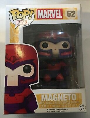 Funko Pop Vinyl Marvel X-men Magneto 62 Vaulted.  • 20£