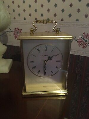H Samuel Brass Carriage Clock • 45£