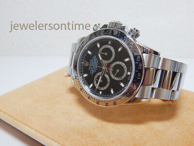 $ CDN24440.23 • Buy Rolex SS Daytona Cosmograph 116520 Black Dial,  V  Serial 2010