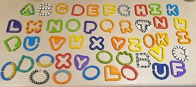 Sassy A-Z Letter Links Alphabet Baby Toddler Teething Sensory Toy With Spares • 0.99£