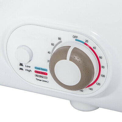 View Details Electric Compact Tumble Laundry Dryer Steel Wall Mounted Home 2.65 Cu.Ft • 379.99$