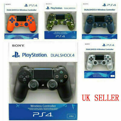 SONY PS4 Controller PlayStation Game Console Pad DualShock Wireless / Jet Black • 26.99£