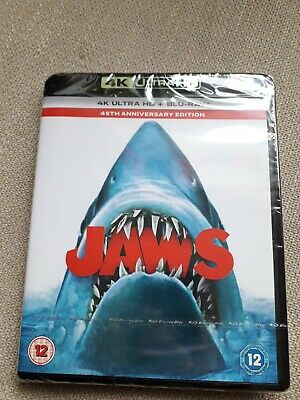 Jaws (Blu-ray, 2020, 2-Disc Set, Anniversary Edition) • 12.60£