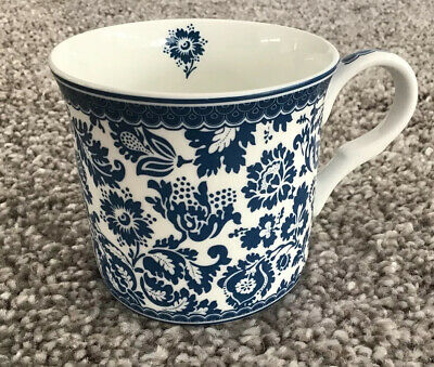 V&A Victoria And Albert Museum London Fine Bone China Mug Coffee Cup Cream Blue • 9.99£