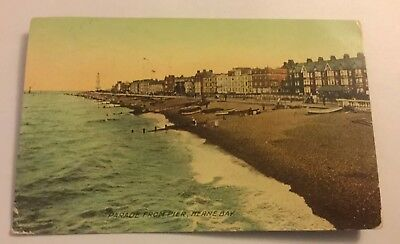 Parade From Pier Herne Bay Postcard 1911 • 4.99£
