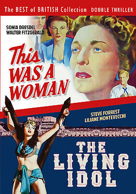 This Was A Woman & The Living Idol DVD 40s 50s British Film Movie  • 8.99£