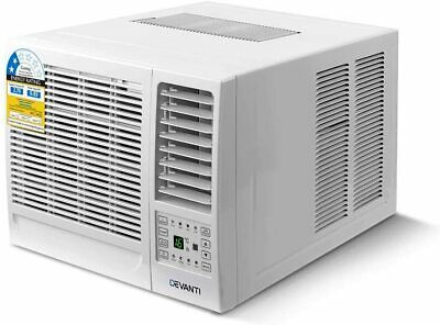 AU600 • Buy Devanti Window Air Conditioner Portable 2.7kW Wall Cooler Fan Cooling Only
