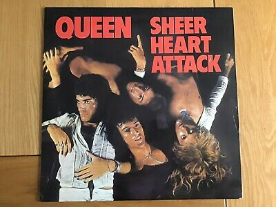 "Queen  ""sheer Heart Attack"" - Original Uk Album – 1974 – Emi Label • 14.99£"