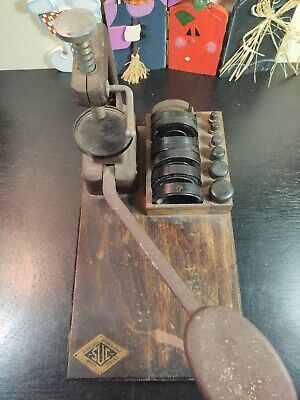 $ CDN58.65 • Buy Vintage Standard Unbreakable SUC Watchmakers CRYSTAL PRESS With Inserts