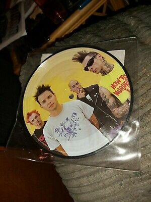 Blink 182 + 44 Lycanthrope Limited Edition Pic Vinyl Music Records  • 2.50£