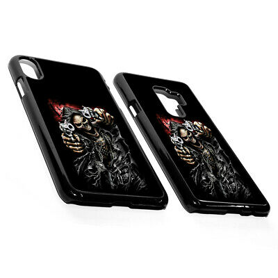 £3.99 • Buy Tattoo Gangsta Gothic Angry Skeleton Gun Blood Plastic Phone Case Cover