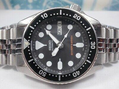 $ CDN42.09 • Buy Seiko Day/date Divers Skx013 200m Auto Midsize Watch 7s26-0030 #2 (sn 057012)
