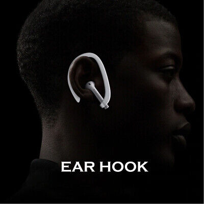 $ CDN1.30 • Buy Protective Silicone Ear Hook For Apple AirPods-Sports Anti Fall Holder Case-Whit