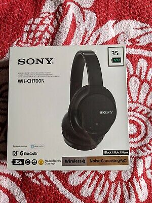 Sony WH-CH700N Over The Ear Bluetooth Headphones - Black • 59£