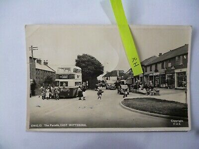 The Parade East Wittering Sussex Postcard Vintage • 2£