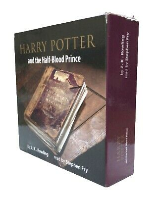 Harry Potter And The Half-Blood Prince Read By Stephen Fry 17 CDS Box Set • 24.49£