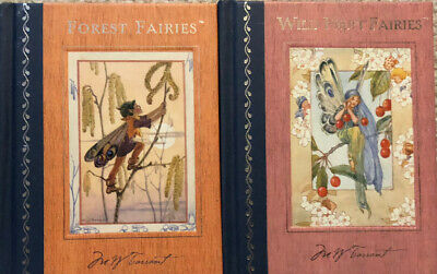 Margaret Tarrant's 2 Flower & Fairies Books In Very Good Condition. • 10£