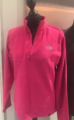 The North Face  Fleece Basecamp  Bright Pink Coloured Top Size L • 16.99£