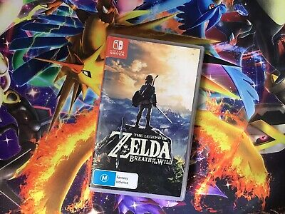 AU45.50 • Buy The Legend Of Zelda: Breath Of The Wild (Switch, 2017) Game