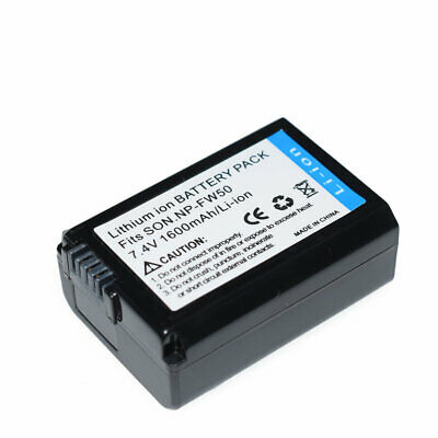 £7.43 • Buy NP-FW50 Battery For Sony Alpha A6500,a6300,a6000,A6100 ILCE-6100 A7s,a7s Ii,a7s