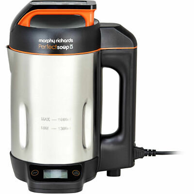 £54.99 • Buy Morphy Richards 501025 Perfect Soup 1.6 Litres Soup Maker Stainless Steel