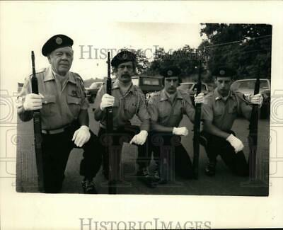 Press Photo Jim And Tom Gorman And Ted And Terry Brown With American Legion Post • 12.51£