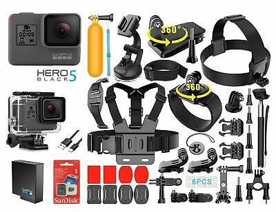 $ CDN289.61 • Buy GoPro HERO 5 Black Edition Touch-Screen Camera + 40 PCS Sports Accessory Bundle
