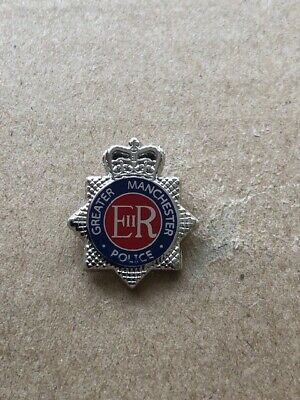 Greater Manchester Police Pin Badge / 20mm Lapel Badge • 3.99£