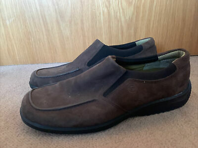 Rockport Brown Suede Womens Slip On Shoes Size 4 Us 6 • 12.50£
