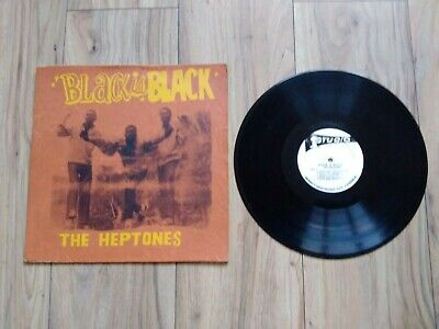 The Heptones - Black Is Black Orig Jamaican Studio One Lp Silkscreen Sleeve • 31£