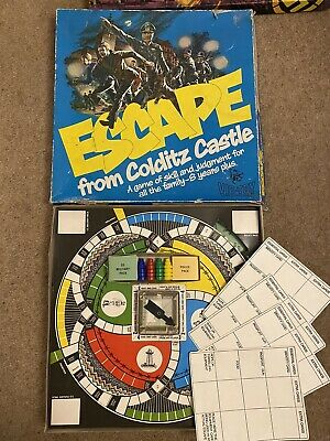 Vintage Escape From Colditz Castle Board Game 1970's VicToy By Invicta Complete • 19.95£