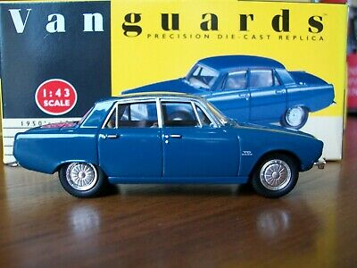 Vanguards Rover 2000 TC P6 Zircon Blue RARE • 12.99£