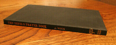 The Devils Prayer Book - A Witch - Rigel Press 1974 • 90£