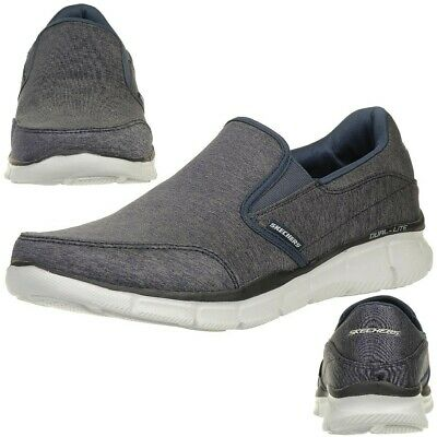 Skechers Equalizer Forward Thinking Men's Slippers Moccasin Slip On Nvgy • 55.27£