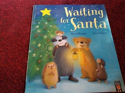 Waiting For Santa. Christmas Picture Story Book. Little Tiger Press • 0.90£