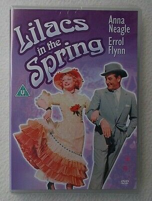 Lilacs In The Spring (1954) DVD ~ Anna Neagle, Errol Flynn ~ Brand New & Sealed • 3.99£