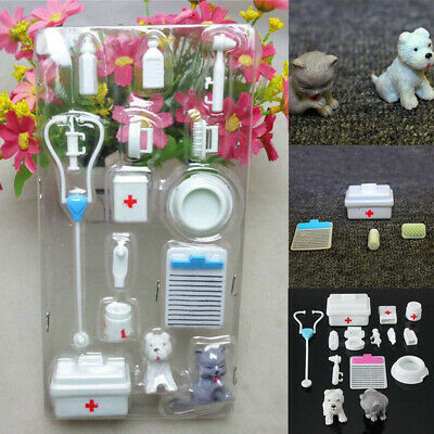 £2.87 • Buy Medical Equipment Toys Accessories Doll Tools  Nurse Doctor Set Of 14pcs